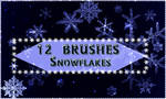 Snowflakes BRUSHES 12 abr by Mumuza