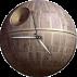 Desktop Gadget Clock Death Star by ProfessorAdagio