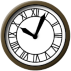 Desktop Gadget Clock Back To The Future Clock by ProfessorAdagio