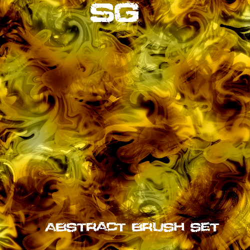 Sg Abstact brush set by Stormguard