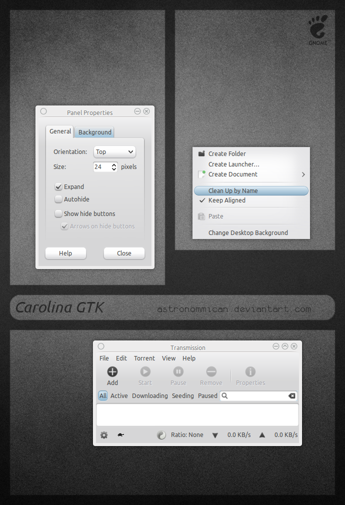 Carolina GTK by Astronommican