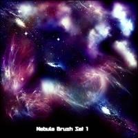 Nebula Brush Set 1 by theKonstruct