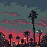 Palm trees by 5ldo0on