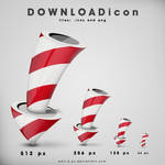 Rocket-download icon