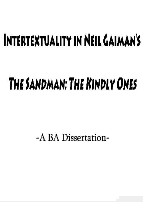 ba dissertation