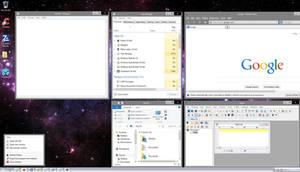 Windows XP Silver Luna Theme for Windows 8 and 8.1