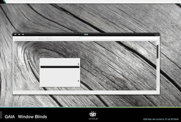 GAIA Window Blinds by SKYNetX