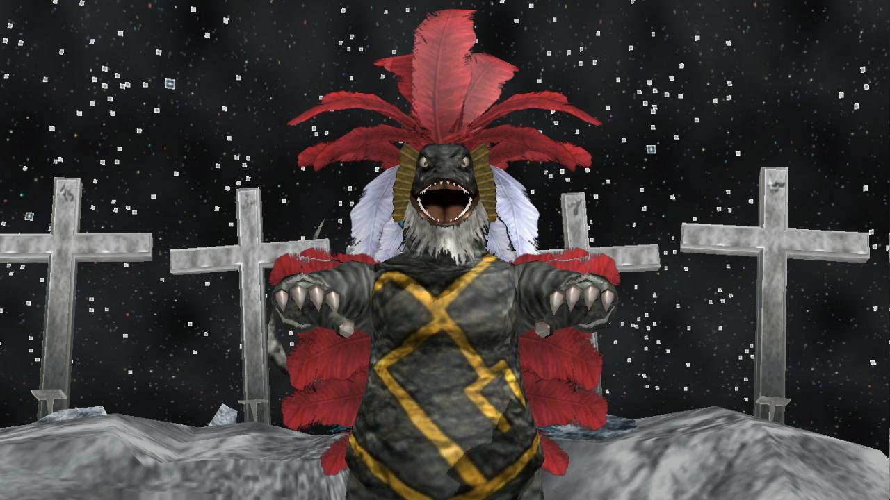 [MMD DL] Ultra Kaiju - Geronimon by BigJohnnyCool
