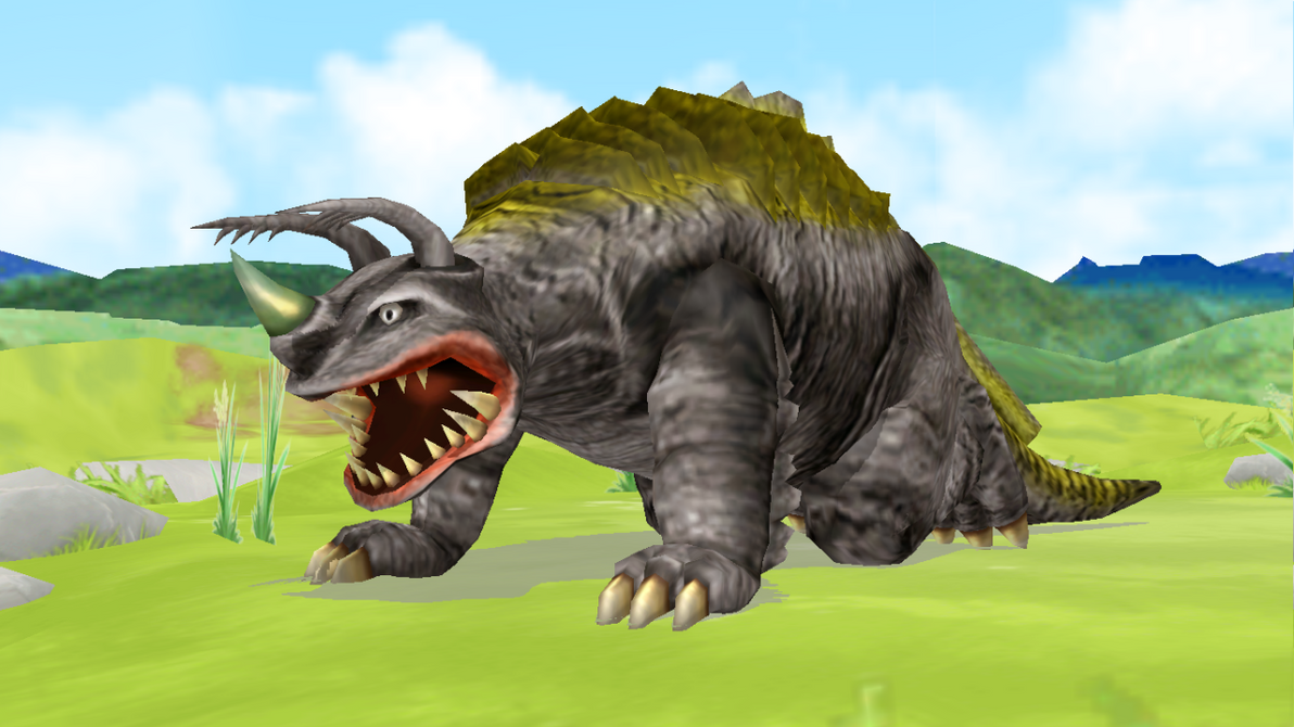 [MMD DL] Ultra Kaiju - Neronga by BigJohnnyCool