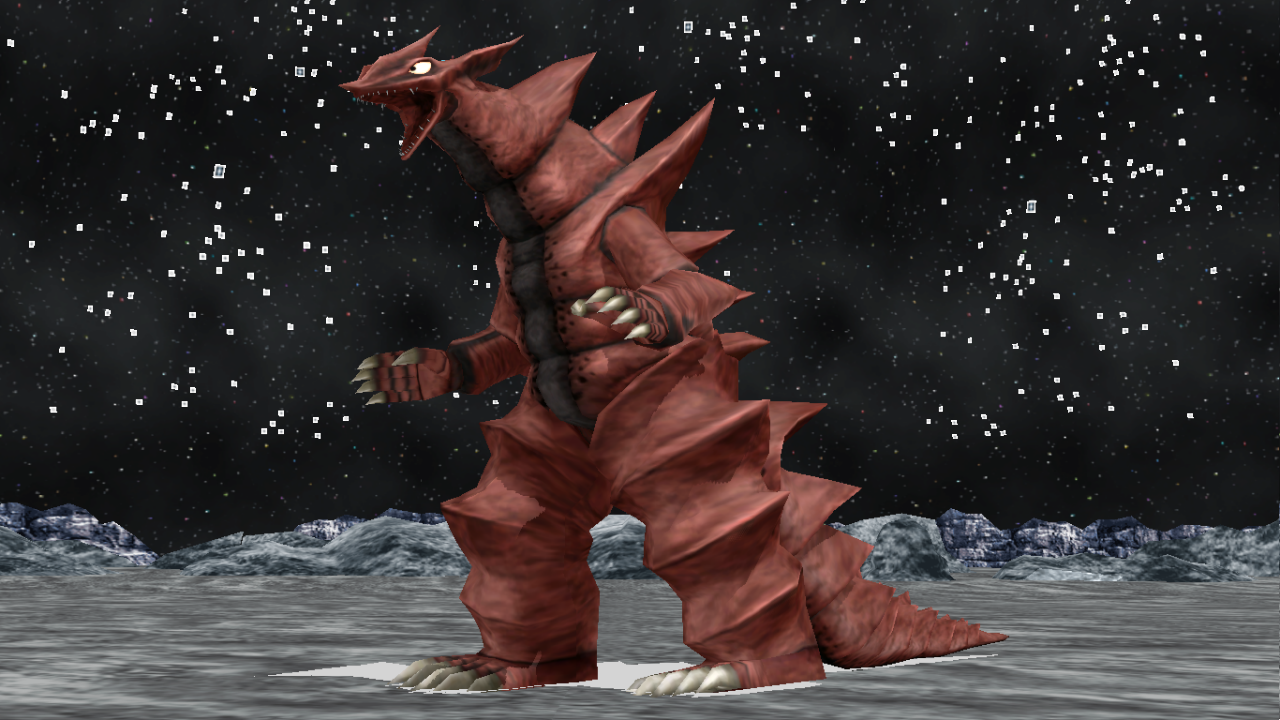 [MMD DL] Ultra Kaiju - Monsarger by BigJohnnyCool