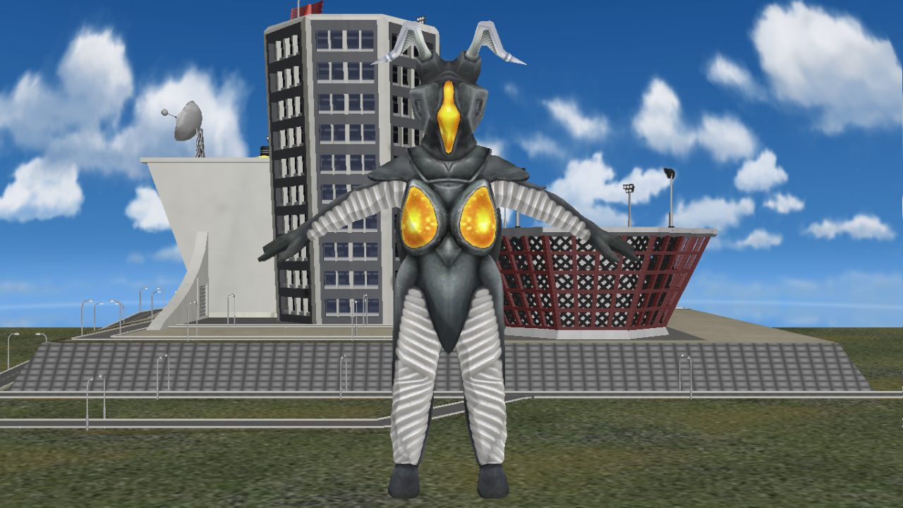 [MMD DL] Ultra Kaiju - Zetton by BigJohnnyCool