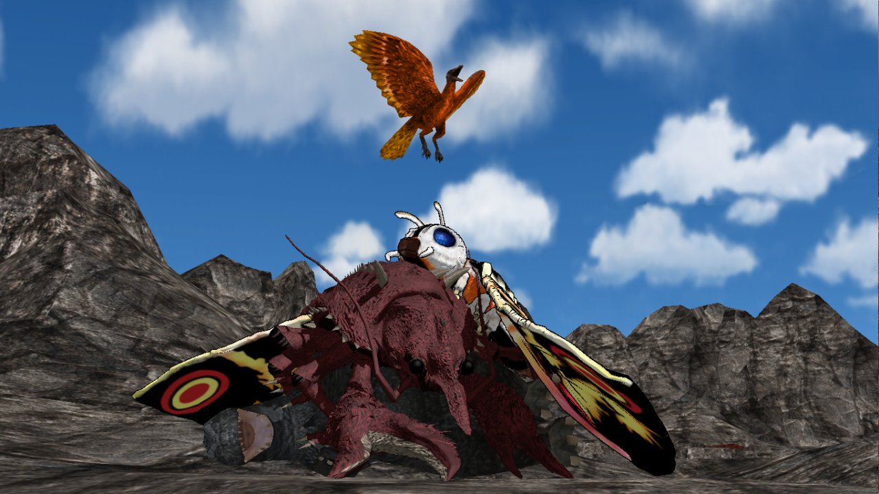 [MMD DL] Giant Condor by BigJohnnyCool