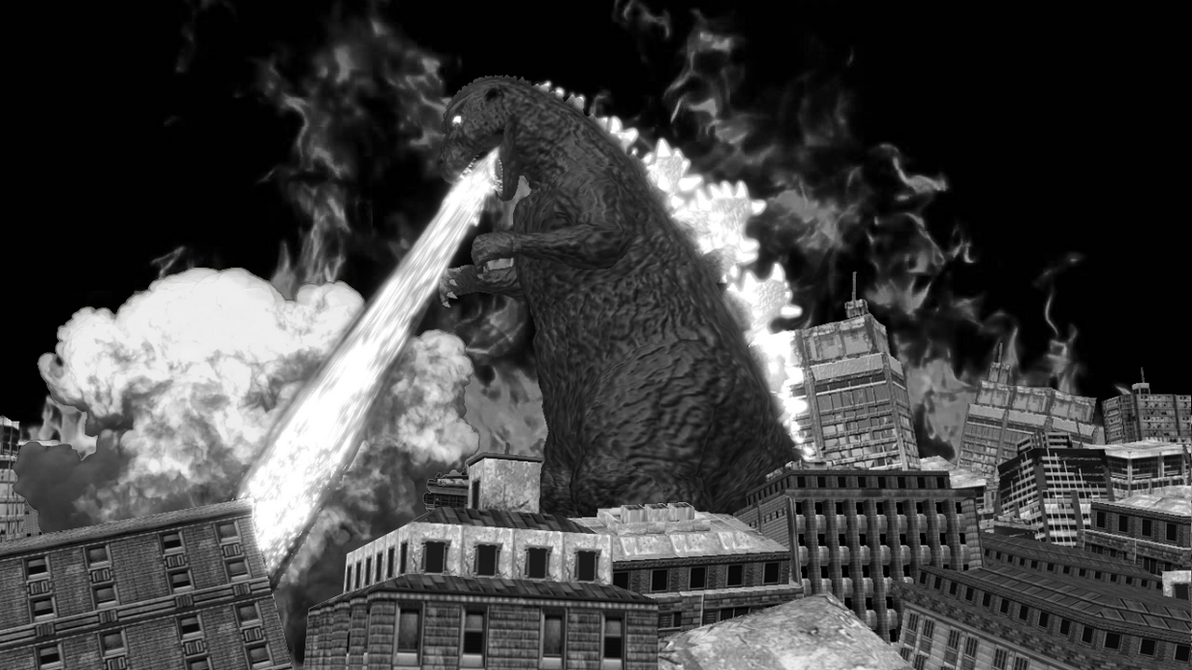 [MMD DL] ShodaiGoji / Godzilla 1954 by BigJohnnyCool