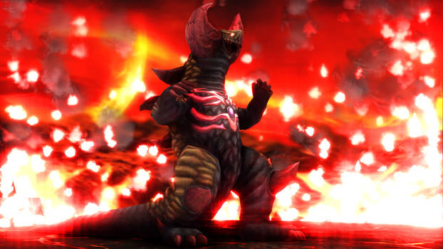 [MMD DL] Ultra Kaiju - Skull Gomora