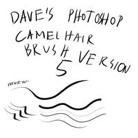 Dave's Camelhairbrush Ver. 5 by Brollonks