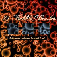 Bubbletastic Brushes for PSP by littiot