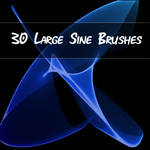 Large Sine Brushes for PSP