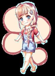 Moe-chan by Digital-Yume