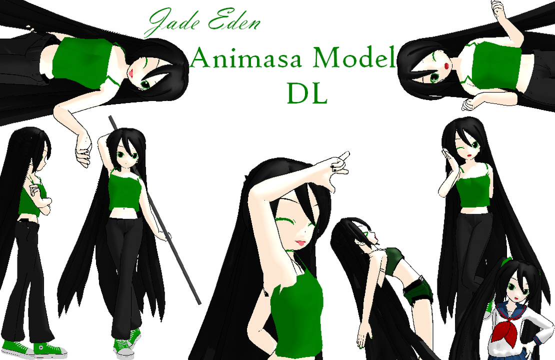 Jade's MMD Animasa Model DL by JadeEdenCDM
