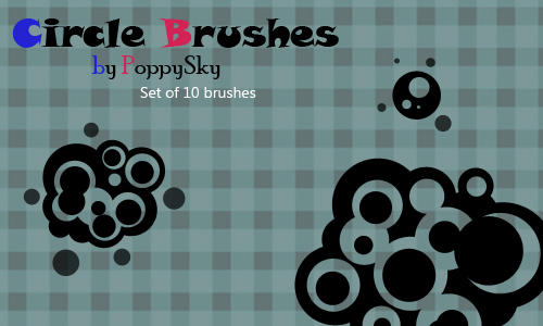 Circle Brushes by PoppySky