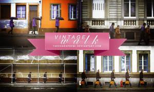PSD | Vintage Walk By theedgeofdemi