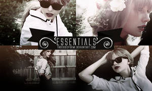 PSD | Essentials By Theedgeofdemi by TheEdgeOfDemi