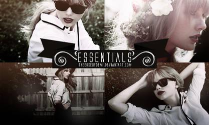 PSD | Essentials By Theedgeofdemi