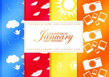 January: Light Textures