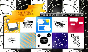 10 ICON TEXTURES PACK