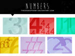 Numbers Texture Pack