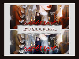 PSD Colouring | Witch's Spell by TheEdgeOfDemi