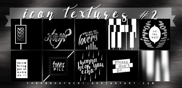 Icon Textures #2 - Mirror Mirror
