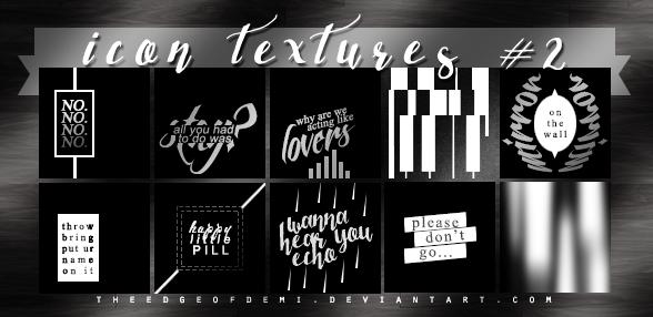 Icon Textures #2 - Mirror Mirror by TheEdgeOfDemi