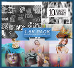 1.5K WATCHERS PACK | THANK YOU!