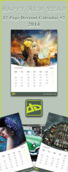 12 Page DA Calender-2014 #2 by SaimGraphics