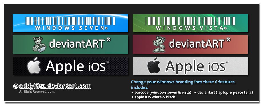 6 Brands For Windows 7 By Addyf812 On Deviantart