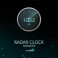 Radar Clock by addyf812