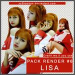 PACK RENDER #6 | 5 PNGs LISA - BLACKPINK