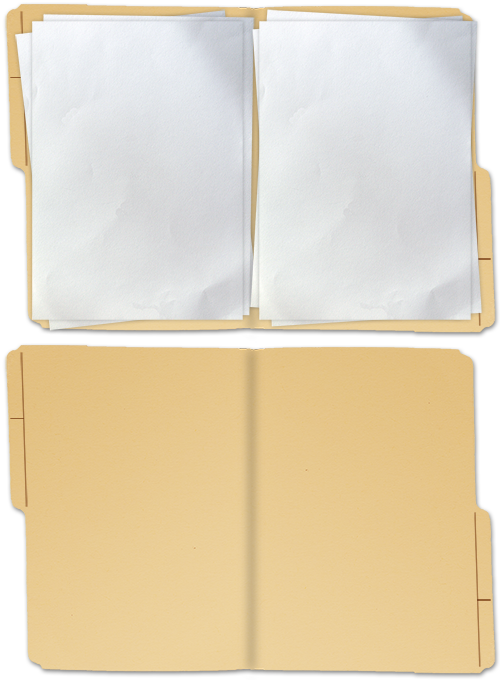 File Folder PSD 2 by mercscilla