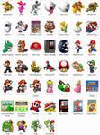 Super Mario NES Windows Icons