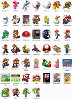 Super Mario NES Dock Icons by sjg2008