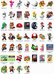 Super Mario NES Dock Icons