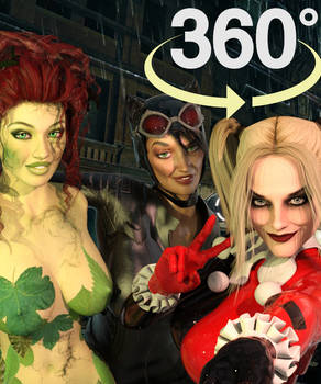 Gotham City Sirens 360