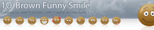10 Brown Funny Smile by Mister-LS
