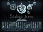 Sketcy Icons Glow edition