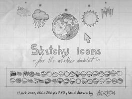 Sketchy Weather Icons by AzureSol