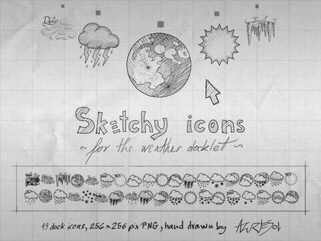 Sketchy Weather Icons
