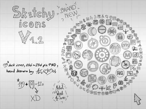 Sketchy Icons v 1.2