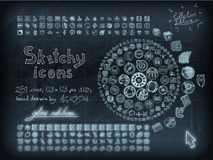 Sketchy Full Icons Glow ed.