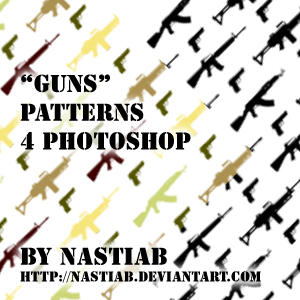 'Guns' Patterns by nastiab
